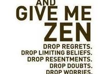 Zen: Mindfulness / Links, prompts and activities to foster mindfulness.