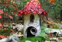 Fairy Houses & Playthings / Cute creations of houses and fun items that fairies and playful humans enjoy.