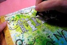 Art Journaling Video Tutorials / A collection of Video Tutorials on using your Art Journal, and Art Journaling Techniques.