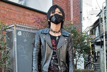 Asia Men's Fashion / Men's Fashion ranging from street wear to runway style in Asia. Masculine rocker look and casual street wear with an edge.