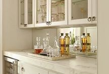 Home♥Bar / Ways to Store & Display Your Home Bar — Interior Design