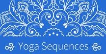 Yoga Sequence / Yoga sequences, Yoga Poses, Beginner Yoga, Virtual Yoga