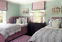 girls bedrooms / by Kelly