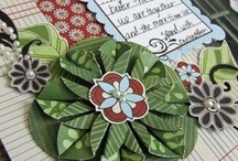 Flower Tutorials (scrapbooking) / These are scrapbooking flowers I've found on the internet. Some are labeled TUTORIAL because it has specific instructions on how to make them. / by Heather Gibbs