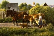 Rural Life, Farming, Tradition / Beautiful