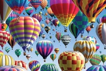 hot air balloons / by Jeannine Tippins