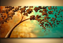 Canvas Art / Wall Art / These are pins of various canvas art, wall art and anything else that inspires me. / by Heather Gibbs