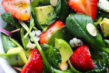 Salads / by Cathy Bybee