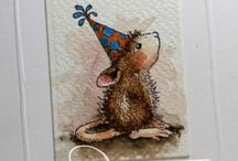Cards - House Mouse / by Melody Holcomb-Hockin