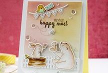 Cards - Pretty Pink Posh / by Melody Holcomb-Hockin