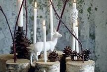 Joulu / Ideoita joulukoristeisiin, koristeluun ja joulunviettoon.