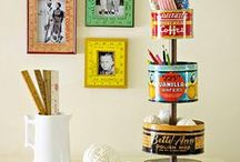 craft-y room inspiration / by Rachel Blazer