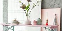 fonQ | Pastel / Zoete, zachte kleuren zorgen voor een zomers gevoel in huis. Je kunt ze eindeloos combineren. Eén ding is zeker: hier worden we vrolijk van!