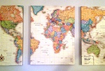 I love Maps / by Kerry Bagley Crabbs