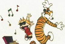 Calvin and Hobbes <3 / by Diane Myers