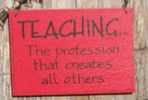 My Calling / Quotes, helpful resources, things for the classroom.  / by Erica Howland
