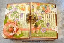 My Mini Albums / Select mini albums are for sale at:  www.dawnasplace.etsy.com