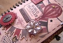 My Journals / Select journals are available for purchase at: www.dawnasplace.etsy.com