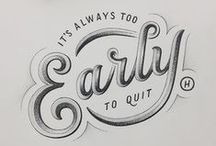 Typography & Hand Lettering