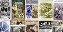 The Penny Dreadfuls: Tales of Horror & More / Penny Dreadfuls: A comprehensive list of one-penny tales of horror & suspense published during the Victorian era. Includes Varney the Vampire, The Wehr-Wolf, The Flying Dutchman and more.