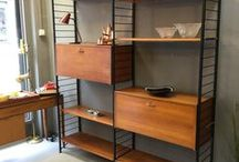 D45 Inspirations & Guidelines / Elementary Studios' D45 Serie ideas for shelving systems, bookshelves, side cabinets, etc...