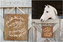 Wedding and Event Signage / by Michelle Wright Events