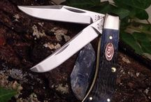 Knives: Sharp & Shiny  / What do we like? If it's sharp and shiny, it'll get our attention. Pocket knives, butterfly knives, hunting knives, fillet knives, survival knives, medieval swords, hand forged katanas and awesome replica movie swords. Follow this board to find some new toys, guides on using them and tips to care for them.