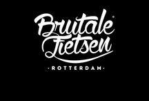 Brutale Fietsen Rotterdam / caferacer scrambler inspiratie