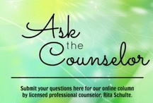 Ask the Counselor / Ask our counselor for advice about things that perplex you.