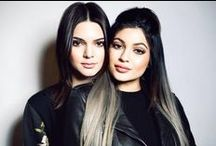 Kendall Jenner,  Kylie Jenner / by Marie Quebedeaux