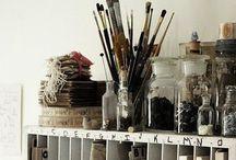 Home: Art Studio / by Minnie