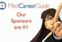 MedCareerGuide Sponsors / MedCareerGuide would like to acknowledge the following organizations for their sponsorship.  To learn more about Sponsorship of MedCareerGuide and all of the benefits, please contact margaret@MedCareerGuide.com.