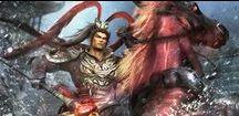 ❧Dynasty / Samurai/ Orochi Warriors✡✦✡ /  Koei - i love this games, series...