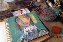 art journaling & sketchbooks