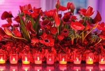 Wedding Flowers- Red