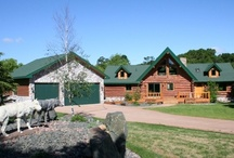 4138 Cass Court, Webster, MN - $359,900 / Fabulous Log Home with an Airstrip. One hour from Minneapolis, $359,900