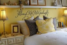 Decorating our bedroom / by Amanda Knighten