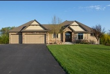 SOLD - 19475 Foxfield Drive, Credit River, MN / Built in 2006 this walkout rambler has 4 bedrooms with 4 baths.  3600 SF with a 4+ car garage and 4.5 acres. $599,900