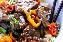 Delicioso: Beef / All recipes include beef.