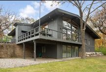 SOLD - 7117 Tralee Drive, Edina, MN / Stunning Mid-Century Modern Home on a wooded acre lot. Completely renovated with fabulous finishes thru out.