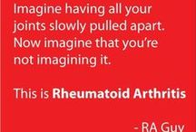 Rheumatoid Arthritis / Diagnosed 2010. Symptoms since 2007. Tips, articles, tricks, and devices for pain relief and info about RA.