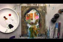 Portraits - #facesclass / Art portraits