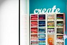 Dream House: Create & Work / Craft rooms and office spaces!