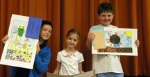 GRCSchool  my CLASS...my students /  I am ART TEACHER