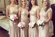 Bridesmaid Dresses/Hair