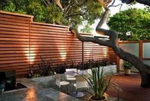 Fencing / Western Red Cedar fencing and inspirational wood fencing