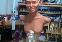 sculpture...., sošky,masky atd.... / sochaření , masky , atd