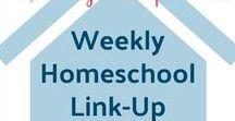 Fridays Unfolded Weekly Homeschool Link-Up Features / All the weekly features from the Fridays Unfolded Homeschool Link-Up party.