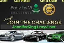 Visalus~ Get a Body By Vi! / Go to: www.JenniferKing1.myvi.net To find out how to: Lose Weight/Gain Muscle/Get in Shape/Earn Money!! I have lost 30 lbs and feel energized and awesome!!