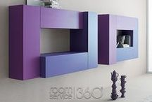 Wall Units and Shelving / Designer, Modern and Contemporary Entertainment Wall Units, TV Stands and Shelving